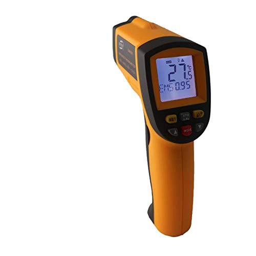 Lomsarsh Tragbares berührungsloses LCD-Infrarot-Digitalthermometer von Clothful