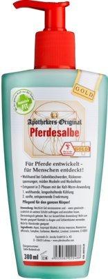 PFERDESALBE Apothekers Original Gold Dosierspender 300 ml