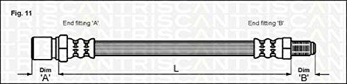 Triscan 815028204 Bremsschlauch hinten