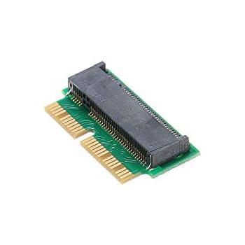 Grborn 12 + 16Pin NGFF M.2 NVME SSD Convertir Tarjeta adaptadora ...