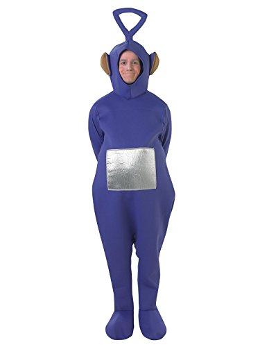 nky Unisex Kostüm Lizenzware lila silber M/L (Tinky Winky Kostüm Kostüm)