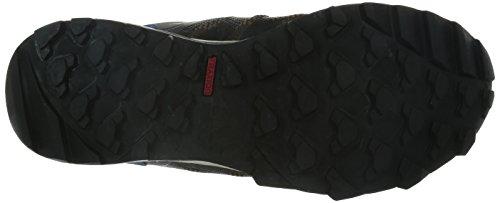 adidas Kanadia 7 Trail Herren Traillaufschuhe Braun (Umber F15/Core Black/Blue)