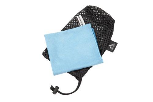 vaude-serviette-de-sport-microfibres-m-bleu-clair