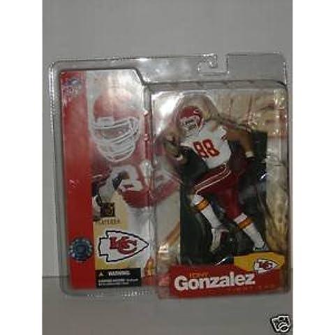McFarlane Toys NFL Sports Picks Series 5 Action Figure Tony Gonzalez (Kansas City Chiefs) White (Gonzalez Jersey)