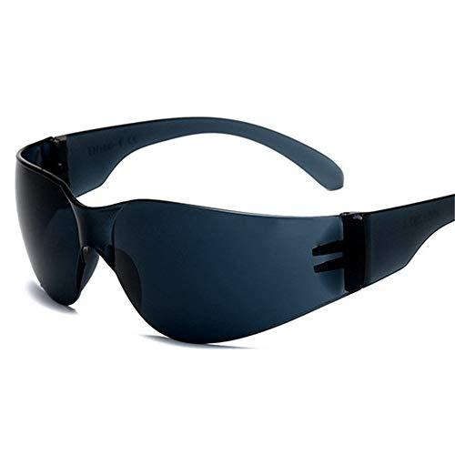 KOMNY Reitbrille Sand-Proof Motorrad Reiten Schutzbrille, stoßfest, UV-beständig Outdoor-Sport-Sonnenbrille, für Männer und Frauen, B