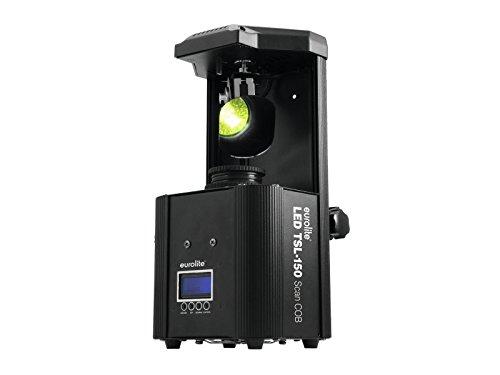 EUROLITE LED TSL-150 Scan COB | Handlicher Scanner mit 30-W-COB-LED, Gobo- und Farbrad | DMX-gesteuerter Betrieb oder Standalone-Betrieb mit Master-/Slave-Funktion möglich |