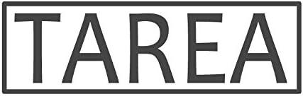 Tarea Tarea Tarea avec bordure, pré encrée en Español & Spanish Teacher Tampon (# 661403-d), style D Large   (58 x 18mm) noir B074P6PHSG 5b77b8