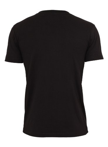 Urban Classics Herren T-Shirt Rundhals Camo Pocket blk/camo
