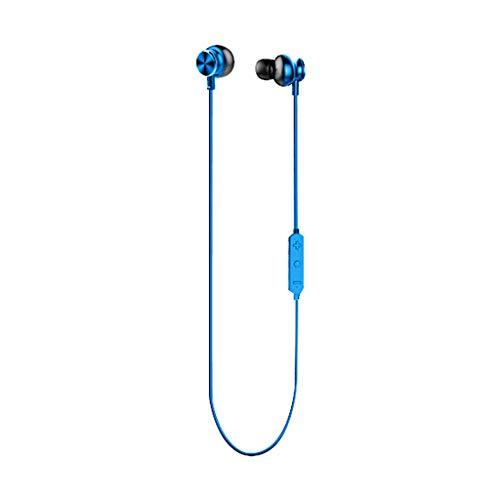 Auricolare bluetooth wireless-tianranrt★ cuffie stereo senza fili bluetooth auricolare sport con microfono per iphone nuovo creativo alta qualità del suono,blu