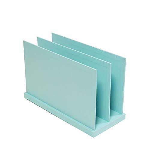 Ordnerregale Datei Halter Datei einstellbar Trennung Kunststoff Datei Halter (blau) Bürobedarf & Schreibwaren (Farbe : Blau)