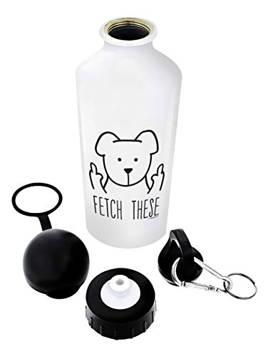 Dog Lover Gifts for Women Fetch These Funny Middle Finger Dog Fetch This Dog Gifts for Dogs Gift Al (Tee Schädel-womens)