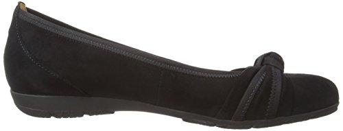 Gabor Shoes 4.162 Damen Geschlossene Ballerinas Schwarz (schwarz 17)