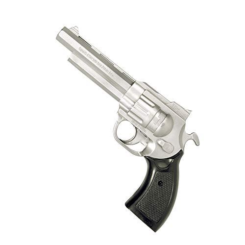 WIDMANN 2775P Revolver Unisex- Erwachsene Silber One Size (Gangster Revolver)