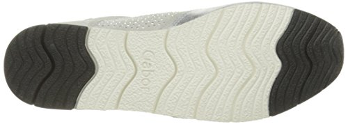GaborGabor - Scarpe da Ginnastica Basse Donna Multicolore (Mehrfarbig (13 ice/argento/marmor))