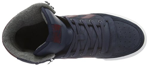 Hummel Unisex-Erwachsene Stadil Winter Sneaker High-Top Blau (Total Eclipse)