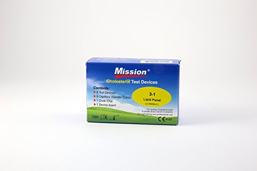 3-in-1 Cholesterin Teststreifen für Mission 3-in-1 Messgerät