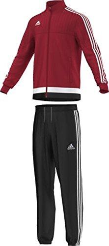 adidas Herren Sportanzug Tiro15 pre suit Trainingsanzug Powred/White/Black, XS