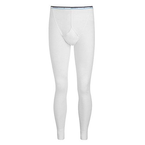 JOCKEY LONG lange Unterhose Spurt Y-Front reine Baumwolle Feinripp mit Eingriff, Farbe:black;Grösse:L (Jockey Lange Unterhosen)