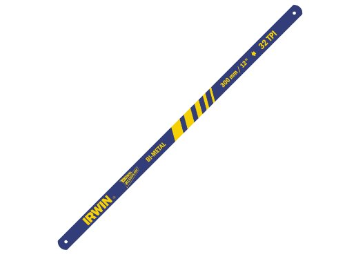 Irwin 10504525 300mm/ 12-inch x 32tpi Bi-Metal Hacksaw Blades (Pack of 2) Test