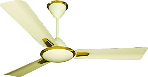 Crompton Aura 48-inch 74-Watt Decorative High Speed Ceiling Fan (Ivory)