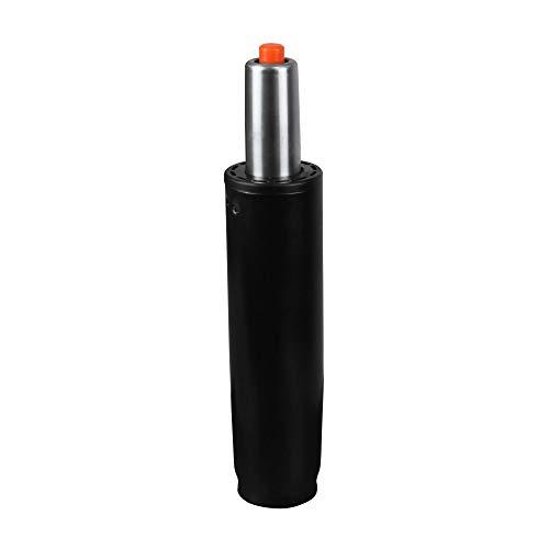 AMSTYLE® Gasdruckfeder schwarz Metall bis 180 kg 245-345 mm   Gasfeder Höhenverstellung 10 cm   Gas-Lift Gasdruckdämpfer für Stühle