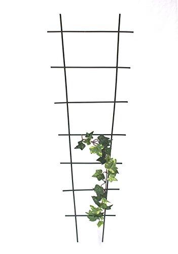 Tuteur treillis Art. 307aide d'escalade en métal à douille 65cm vert clôture Clôture