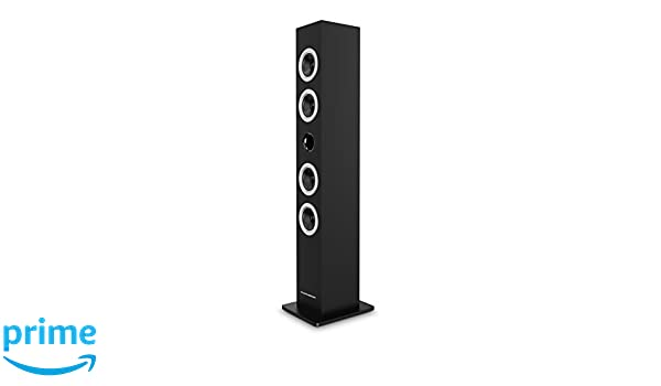 Multimedia Tower with CD Player Zwart Thomson