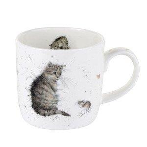 Luxury Stylist Wrendale Mug chat et souris