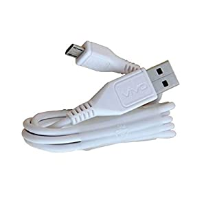 Duisah Compatible Original Charge and Data Sync Cable for VIVO X21-White-1 Metre