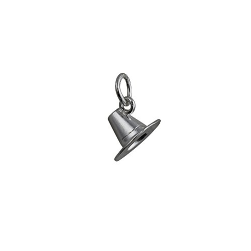 Pilger Hüte (Silber Ende–925/1000–7x 12mm Pilger Hut Anhänger oder)