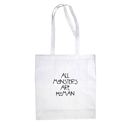 Planet Nerd All Monsters are Human - Stofftasche/Beutel, Farbe: ()