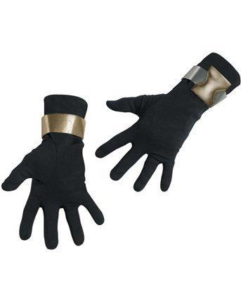 I Costume Gi Joe (Disguise Deluxe Erwachsene G.I. Joe Snake Eyes Handschuhe - Erwachsene)