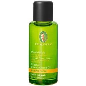 PRIMAVERA Pflegeöl Mandelöl bio 100 ml - Naturkosmetik, Pflanzenöl, Hautöl - pflegend, feuchtigkeitsspendend - vegan -
