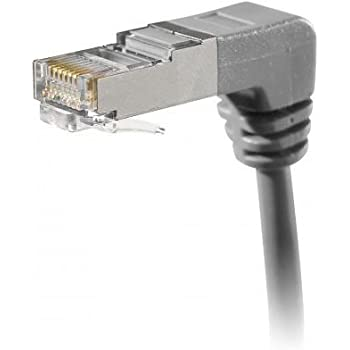 Connect Cordon patch/câble RJ45CAT 5e F/UTP en cuivre Gris 30 cm