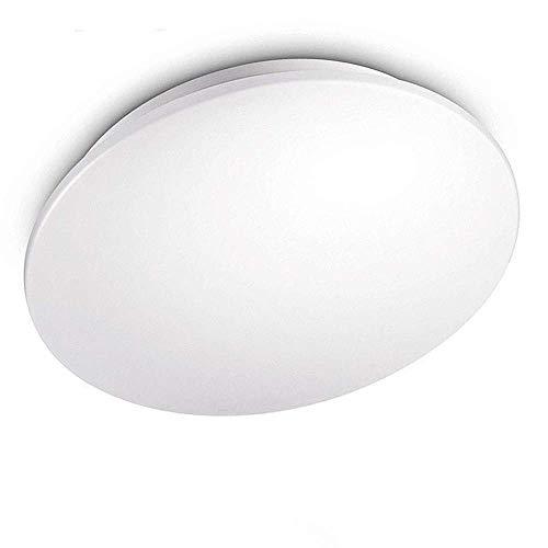 KWODE 18W LED Deckenleuchte, Kaltweiß 6000K Deckenlampe Deckenbeleuchtung, IP44 Rund Badezimmerleuchte Badezimmerlampe Badlampe ideal für Badezimmer Balkon Flur Bad Küche