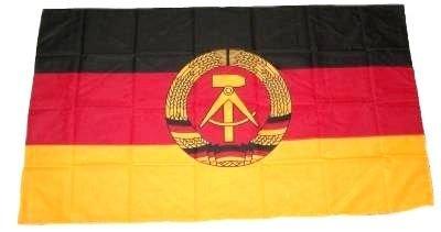 Fahne Stockflagge DDR NEU 30 x 45 cm Flagge