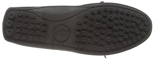 Hudson London Herren Felipe Calf Black Slipper Schwarz (Black)
