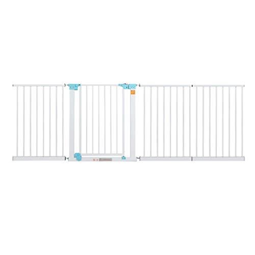 Extra Breite Baby Tore Für Türen Treppen Weiß Metall Haustiertür Wandschutz Safe Tore 74-186 cm Breite (Größe: 172-179 cm)