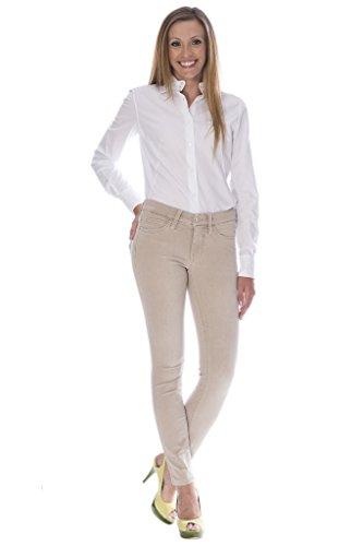 MAC Jeans Dream Skinny Power Stretch Damen Beige 0355L D729 5402 90 D40 L32 - Power-stretch-denim