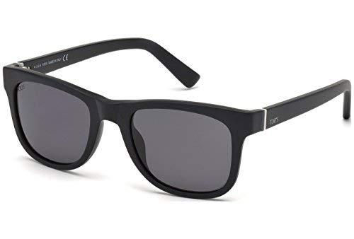 Occhiali da sole polarizzati tod's to0164 c52 02d (matte black / smoke polarized)