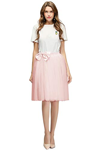 Babyonlinedress Damen Vintage Petticoat Reifröcke Unterrock für Rockabilly Kleid Festliches Kleid...