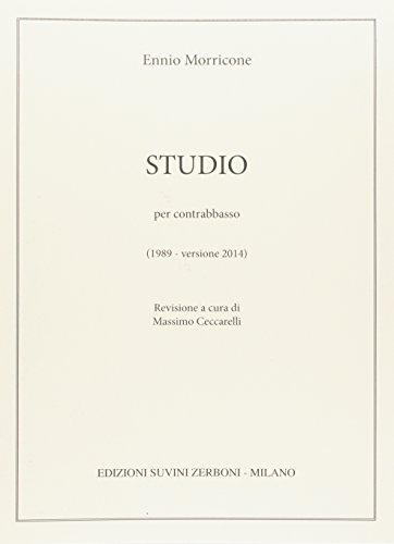 Studio per contrabbasso (1989 – versione 2014) – Revisione a cura di Massimo Ceccarelli