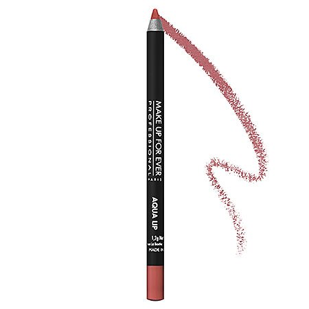 MAKE UP FOR EVER Aqua Lip Waterproof Lipliner Pencil 1.2g 02C - Rosewood