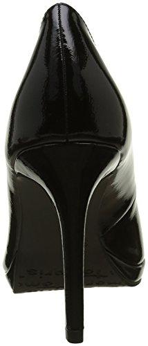 Tamaris - 22448, Scarpe con Tacco Donna Nero (BLACK PATENT 018)