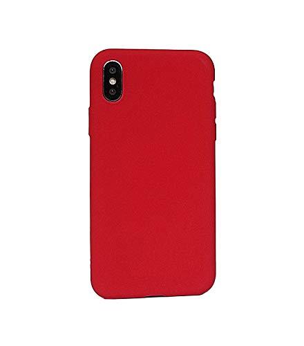 inShang iPhone XS Hülle, iPhone X Hülle, 5,8 Zoll Anti Fingerabdruck TPU Silikon Schutzhülle Matte Telefon Hülle für iPhone X (2017) / iPhone XS (2018)