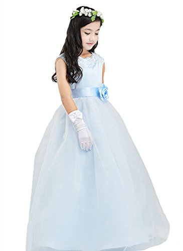 SK Studio Mädchen Kleid Gr. 4 Jahre = Etikett 110, hellblau