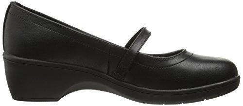Skechers Womens Flexibles-staple 48656 Scarpe Nero Nero