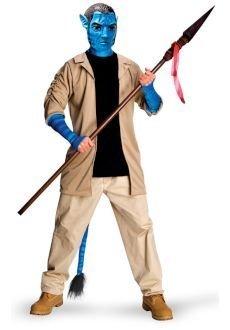 Rubie's Jake Sully Avatar Kostüm Deluxe Männer (Kostüm Mann Avatar)
