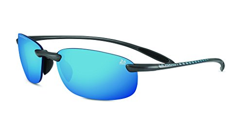 Serengeti nuvola 24h il man phd polarized 555nm blue occhiali da sole unisex adulto, satin dark gun