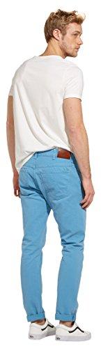 Wrangler Herren Slim Jeans Larston Blau (Vintage Blue 99)